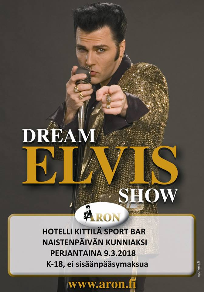 Elvis-Show perjantaina 09.03.